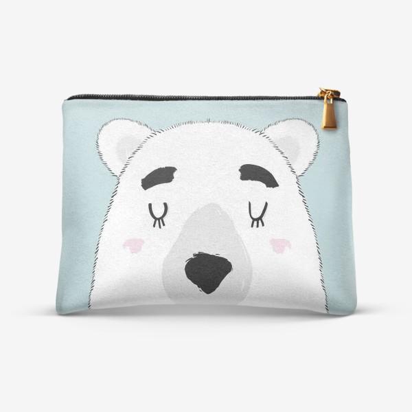 Косметичка «Белый полярный медведь»