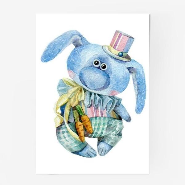 Постер «Mr. Carrot (коллекционная игрушка Тетюшиной Ольги)»
