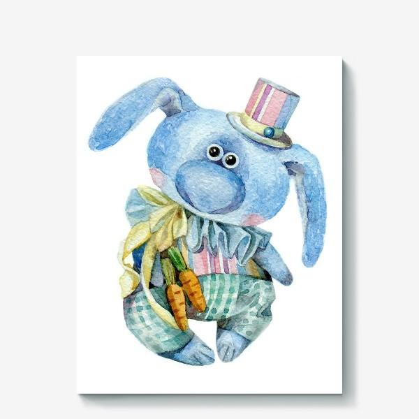 Холст «Mr. Carrot (коллекционная игрушка Тетюшиной Ольги)»