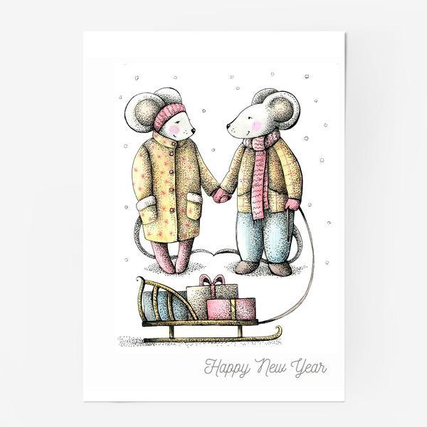 Постер «новогоднее»
