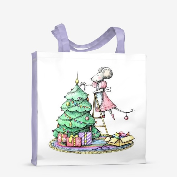 Сумка-шоппер «новогоднее»