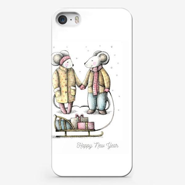 Чехол iPhone «новогоднее»