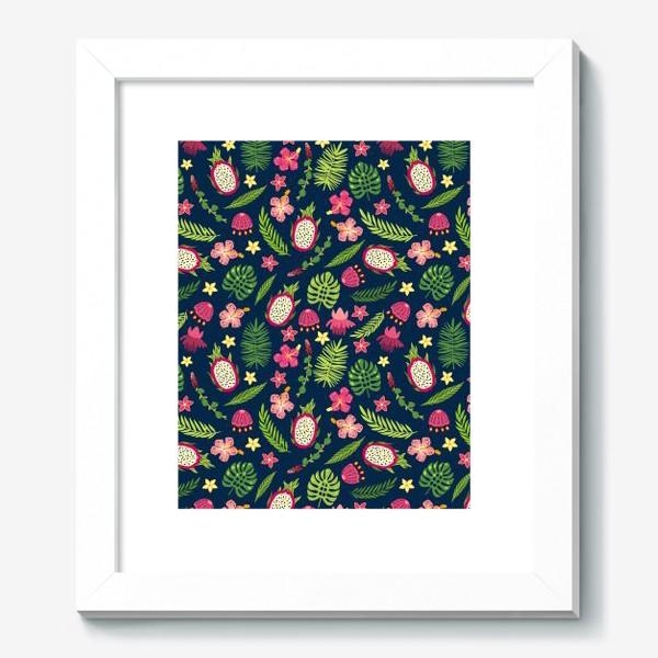 Картина «Розовые тропики»