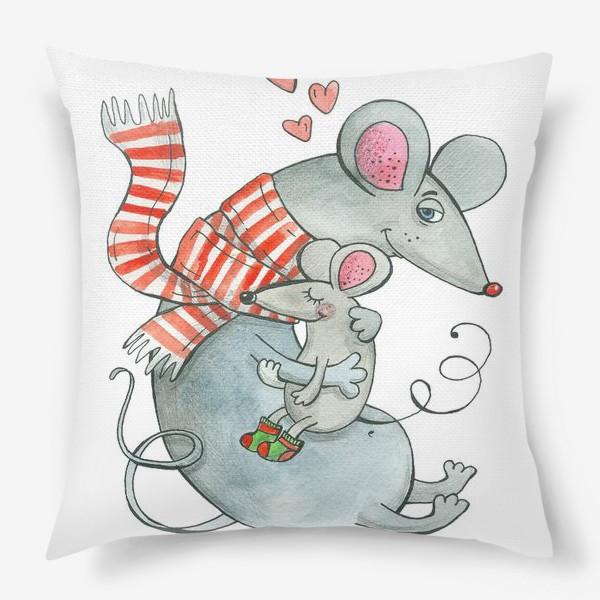 Подушка «Мыши»