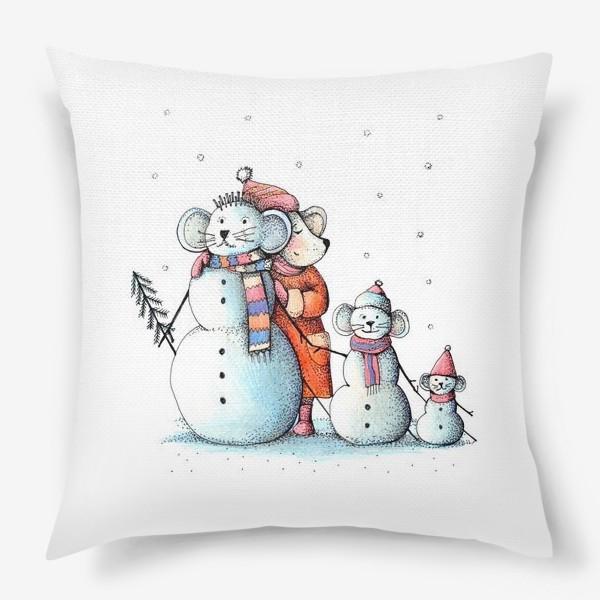 Подушка «новогоднее»