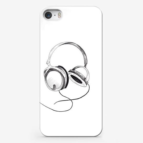 Чехол iPhone «Наушники»