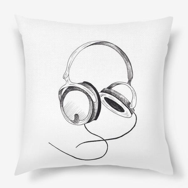 Подушка «Наушники»