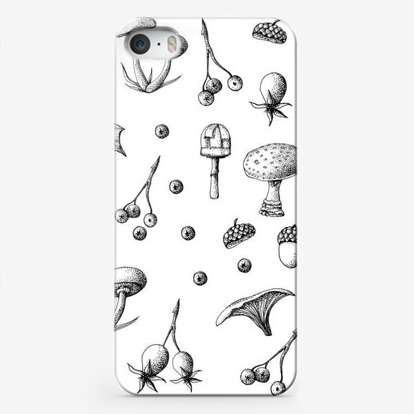 Чехол iPhone «осенний принт»