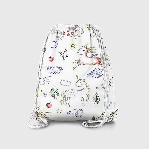 Рюкзак «Лошадки»