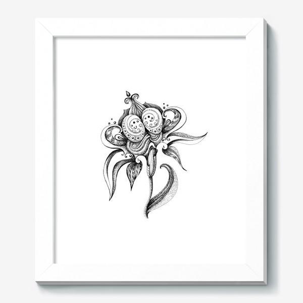 Картина «цветок»
