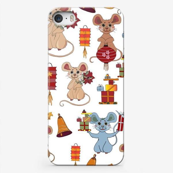 Чехол iPhone «мышка 2020»