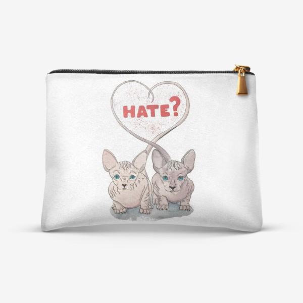Косметичка «Любовь и ненависть. Сфинксы.»