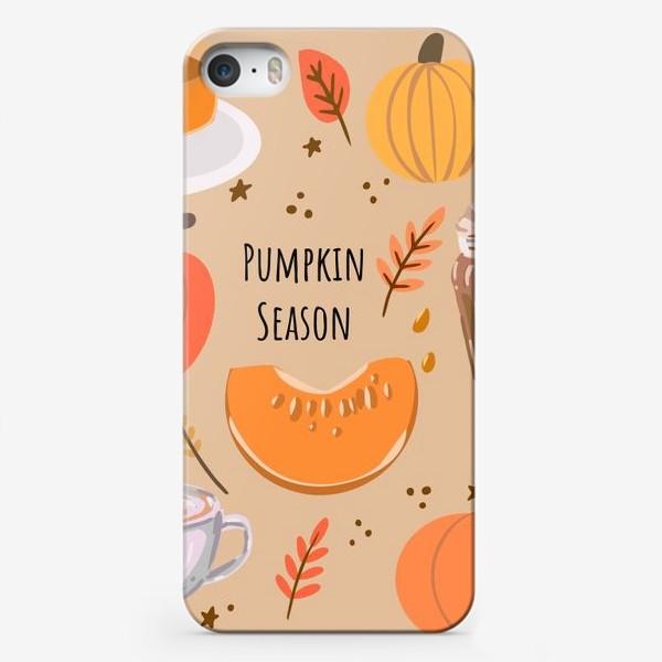 Чехол iPhone «Сезон тыкв»