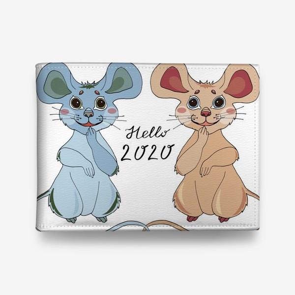 Кошелек «Мышки ждут новый год»