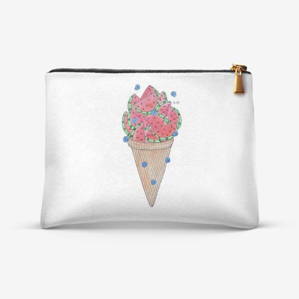 Косметичка «Арбузное мороженое»
