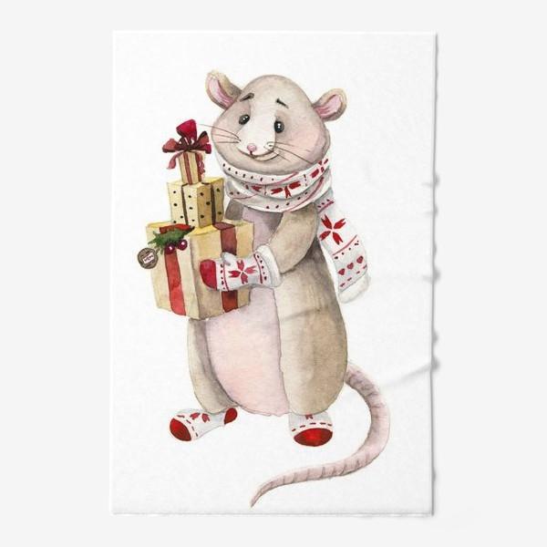 Полотенце «Мышонок Новый год»