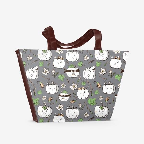 Пляжная сумка «тыковки»