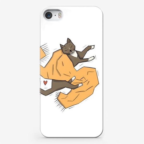Чехол iPhone «кот О'Сень»