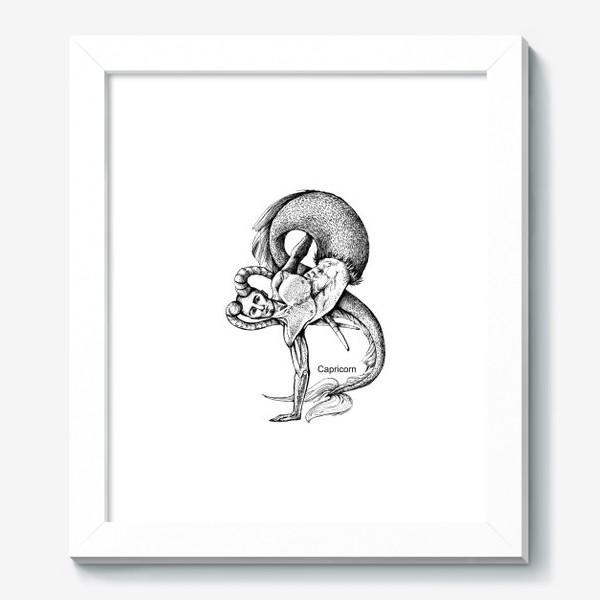 Картина «козерог»