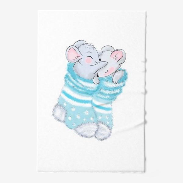 Полотенце «Влюбленные мыши»