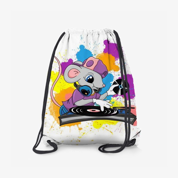 Рюкзак «Мышь диджей»