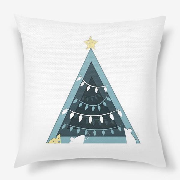 Подушка «Мышиный Новый год»