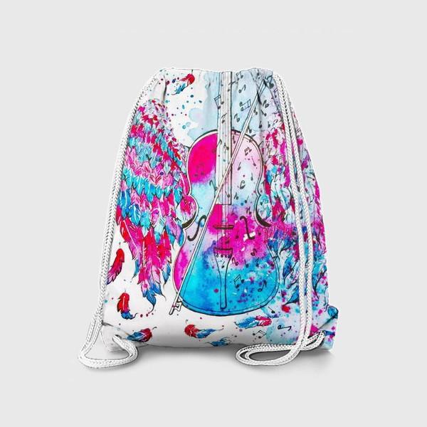 Рюкзак «Музыка окрыляет»