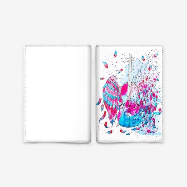 Обложка для паспорта «Музыка окрыляет»
