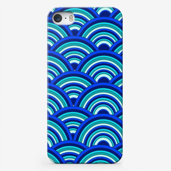 Чехол iPhone «BLUE Waves»