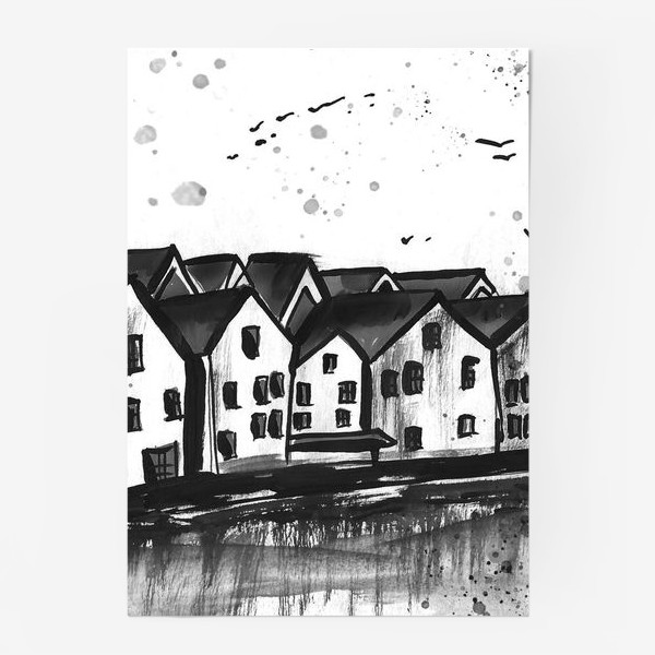Постер «Скандинавия»