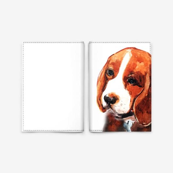 Обложка для паспорта «Бигль»