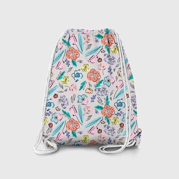 Рюкзак «Ситцевые цветы»