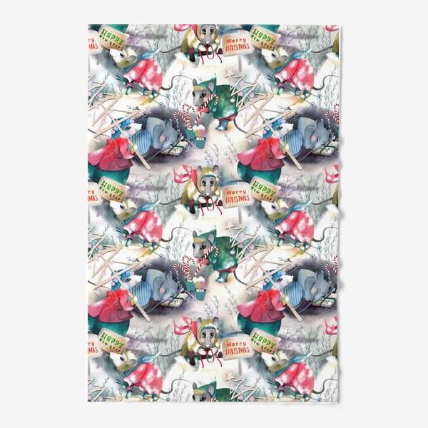 Полотенце «Зимние хлопоты полотенце»
