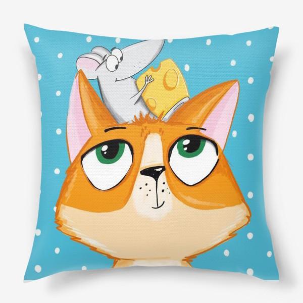 Подушка «Кошки мышки. 2»