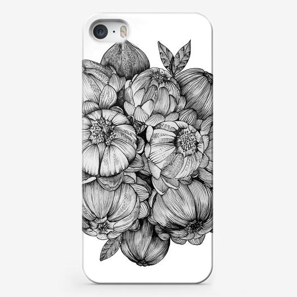 Чехол iPhone «Неведомые цветы»