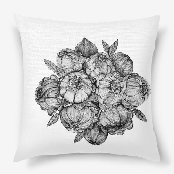 Подушка «Неведомые цветы»