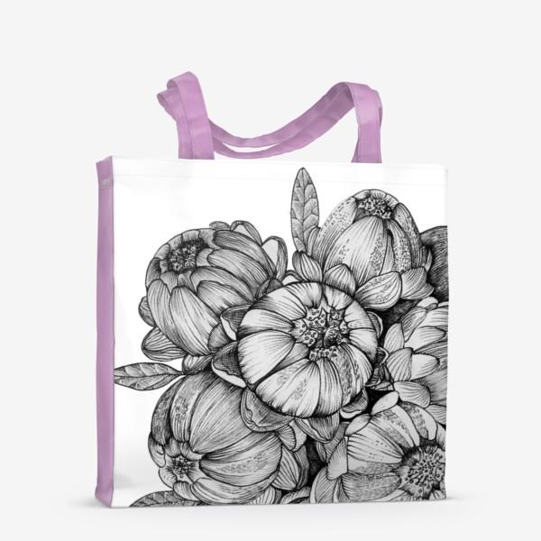 Сумка-шоппер «Неведомые цветы»