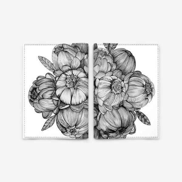 Обложка для паспорта «Неведомые цветы»