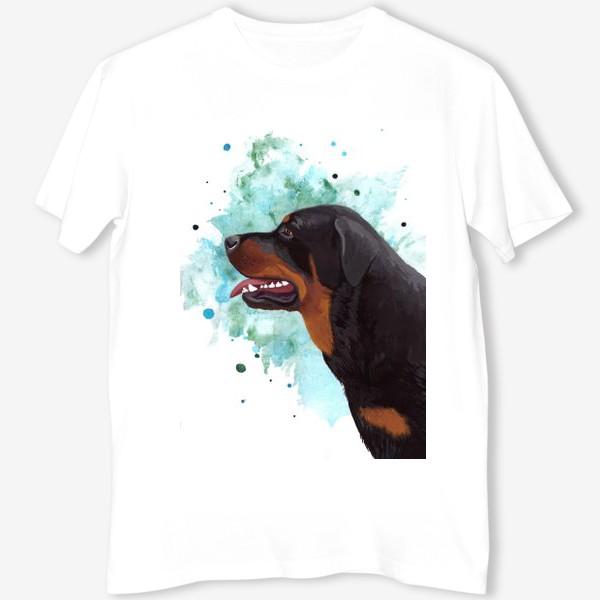 Футболка «Собака Ротвейлер»