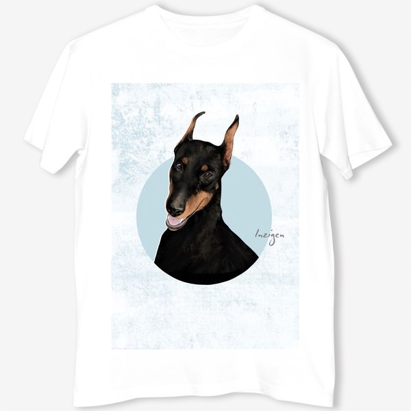 Футболка «Символ года: собака (доберман)»