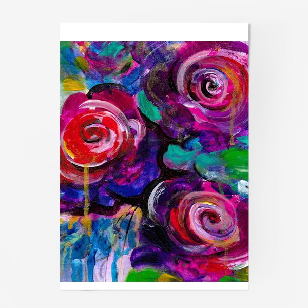 Постер «Abstract flora»