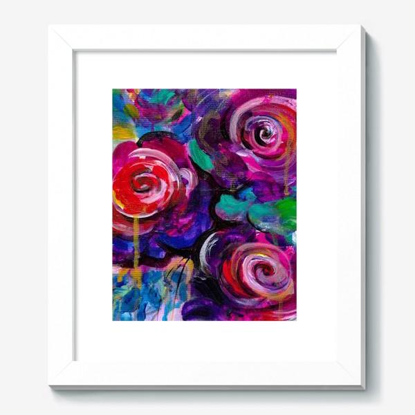 Картина «Abstract flora»