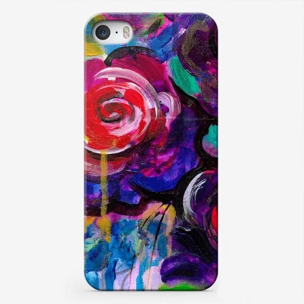 Чехол iPhone «Abstract flora»