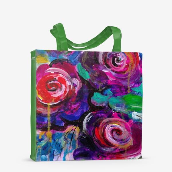 Сумка-шоппер «Abstract flora»