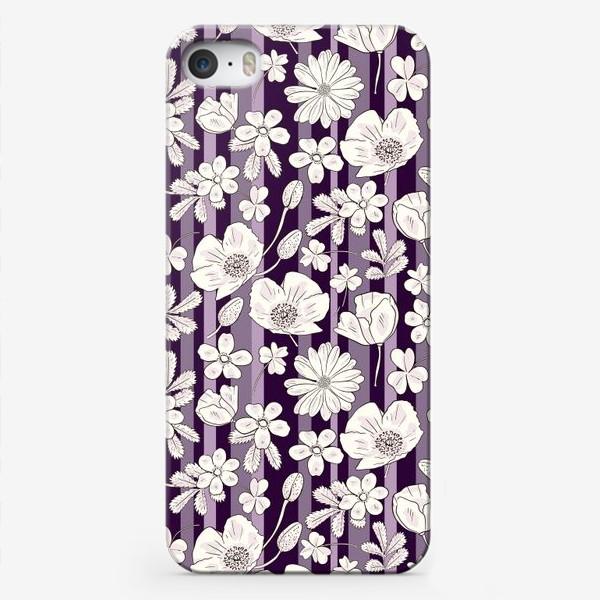 Чехол iPhone «Lilac meadow»
