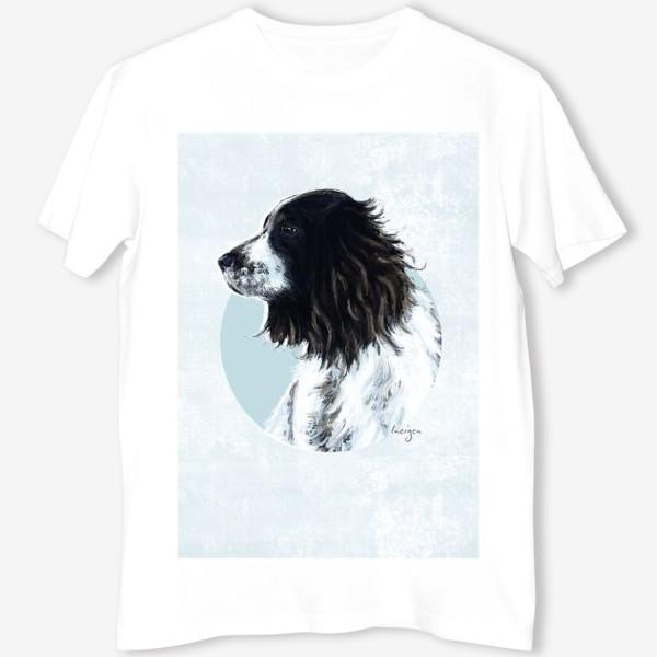Футболка «Символ года. Собака (спаниель)»