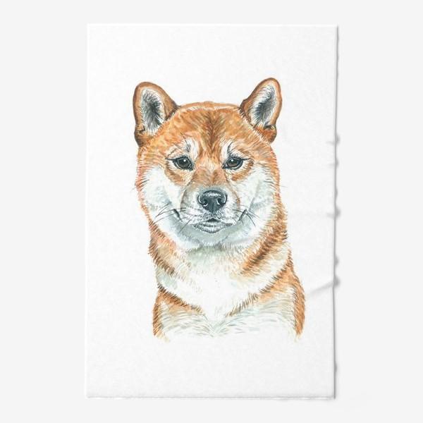 Полотенце «пес Шиба Ину »