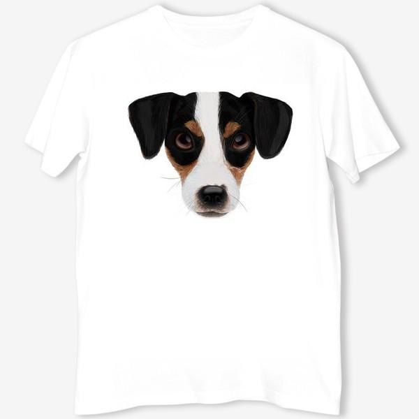 Футболка «Портрет собаки. Джек рассел терьер»