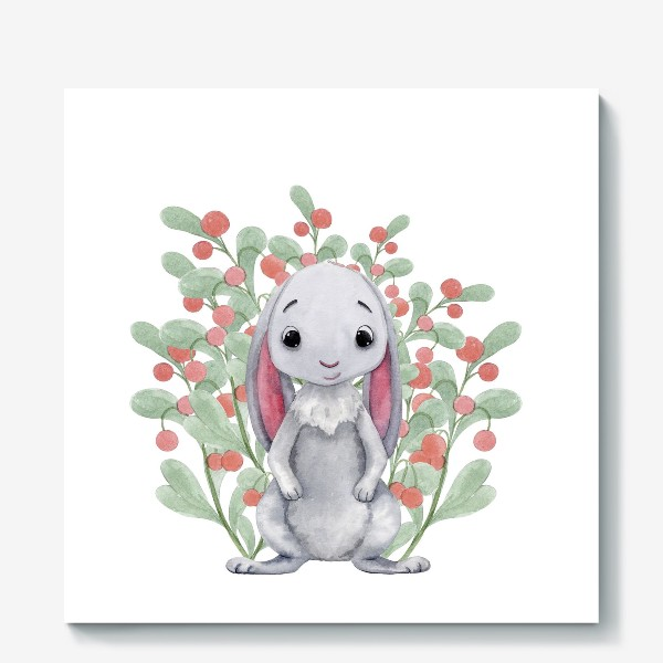 Холст «Милый Кролик »
