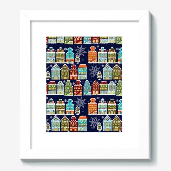 Картина «Пряничные домики. Паттерн»